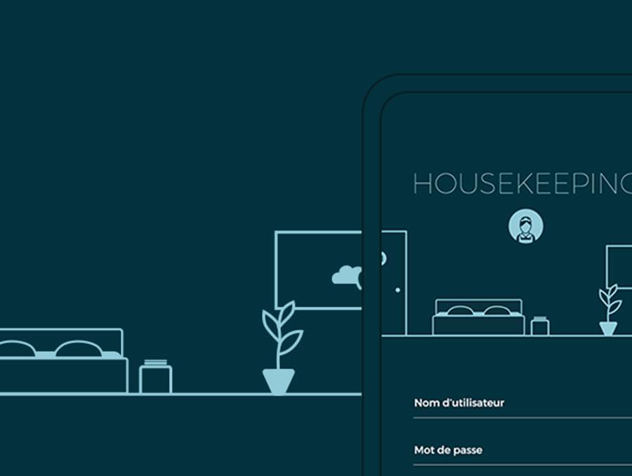 Housekeeping app